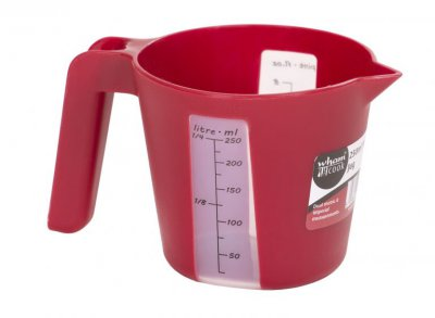 Chilli Red Measuring Jug