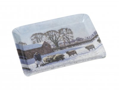 Country Life Winter Rations Melamine Scatter Tray