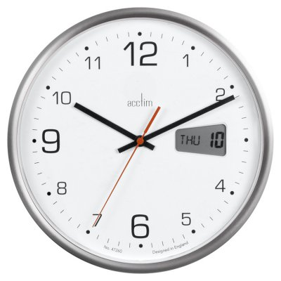 Acctim Kalendar Quartz Wall Clocks
