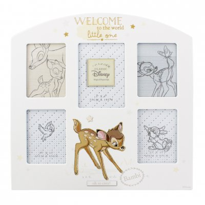 Disney Magical Beginnings Collage Frame - Bambi