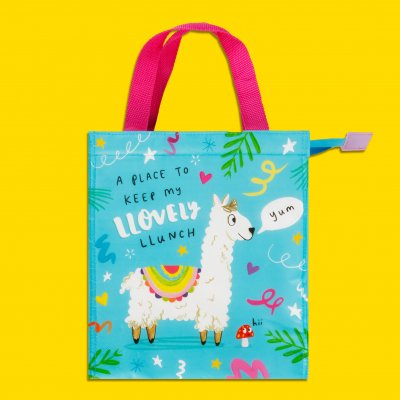 The Happy News Snack/Tote Bag - Llovely Llunch