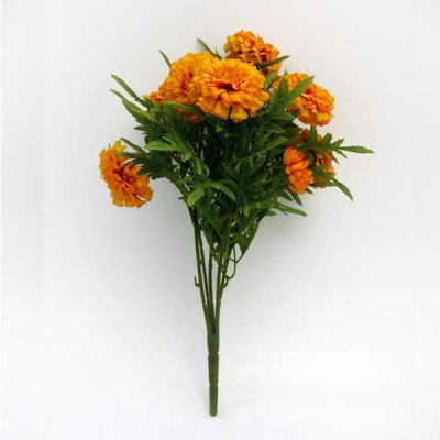 Marigold Bush Artificial Flowers