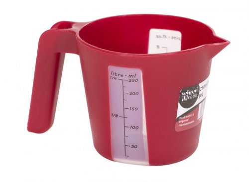 Chilli Red Measuring Jug: 250ML