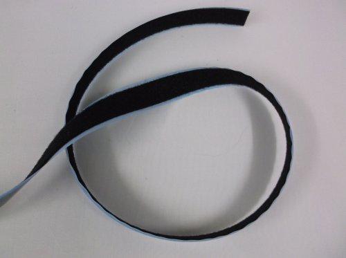 Black Self Adhesive Velcro Loop