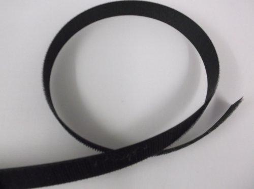 Black Velcro Sew-on Hook