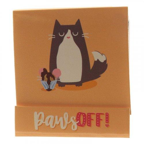 Feline Fine Cat Matchbook Nail file: Paws Off