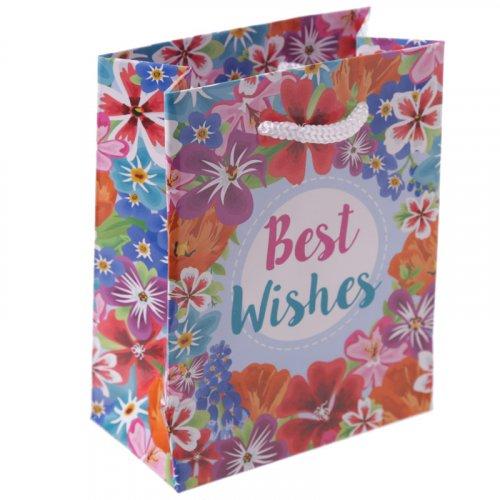 Botanical Garden Gift Bag : Best Wishes Gift Bag Small