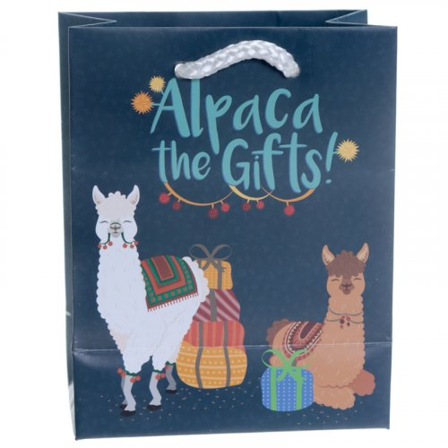 Alpaca The Gifts Alpaca Gift Bag : Alpaca The Gifts Gift Bag Small