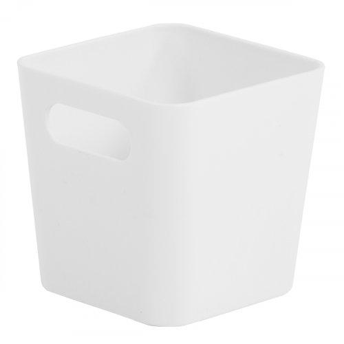 Studio Basket Square Ice White 10x10x10cm