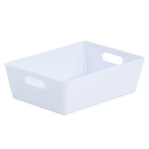 Studio Basket Rectangular Ice White 5x16.5x12cm